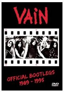 Cover - Vain: Official Bootlegs 1989-1995
