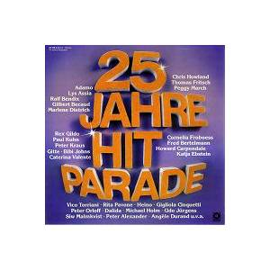 Cover - Conny Froboess & Peter Alexander: 25 Jahre Hitparade