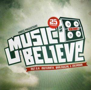 Music U Believe - Volume 1 - Cover