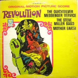 Cover - Quicksilver Messenger Service: Revolution - Original Motion Picture Score