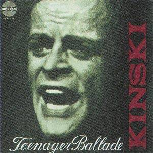 Cover - Klaus Kinski: Teenagerballade