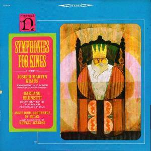 Cover - Joseph Martin Kraus: Symphonies For Kings