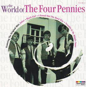 Cover - Four Pennies, The: World Of The Four Pennies, The