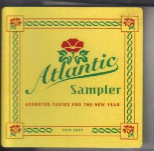 Cover - Máire Brennan: Atlantic Sampler - Assorted Tastes For The New Year