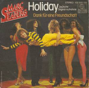 Cover - Marc Seaberg: Holiday