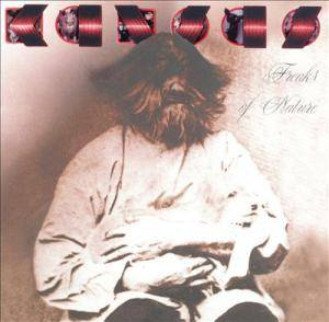 Kansas: Freaks Of Nature - Cover