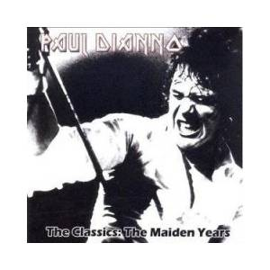Cover - Paul Di'Anno: Classics : The Maiden Years, The