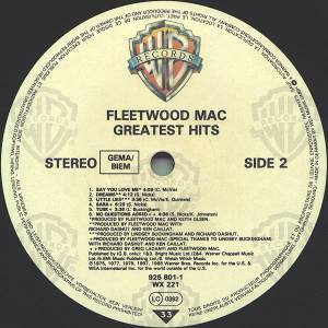 Fleetwood Mac: Greatest Hits (LP) - Bild 4