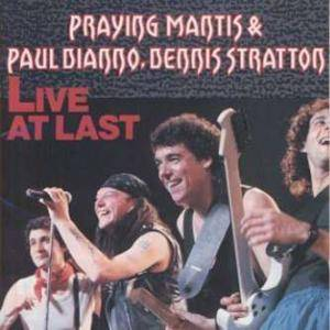 Praying Mantis, Paul Di'Anno, Dennis Stratton: Live At Last - Cover