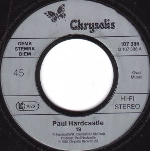 "Paul Hardcastle: 19 (7"") - Bild 3"