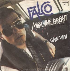 Falco: Maschine Brennt - Cover