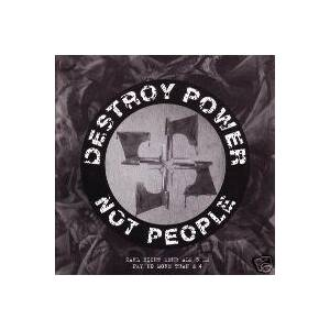 Cover - Dead Beat: Destroy Power Not People