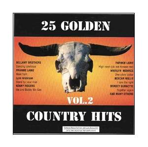 Cover - Carmen & Thompson: 25 Golden Country Hits Vol. 2