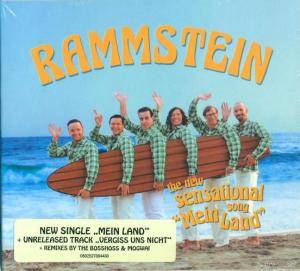 Rammstein / The BossHoss: Mein Land (Split-Single-CD) - Bild 2