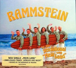 Rammstein / The BossHoss: Mein Land (Split-Single-CD) - Bild 5