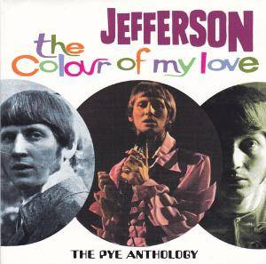 Cover - Jefferson: Colour Of My Love - The Pye Anthology, The
