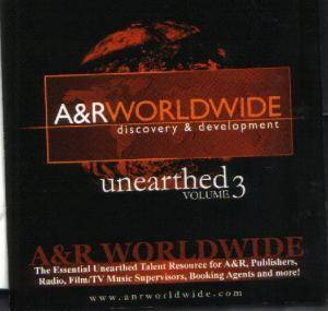 Cover - 28 Days: A&R Worldwide - Unearthed Vol 3