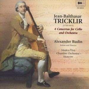 Jean-Balthasar Tricklir: 4 Concertos For Cello And Orchestra - Cover