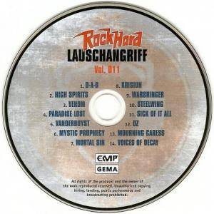 Rock Hard - Lauschangriff Vol. 011 (CD) - Bild 3
