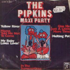 Cover - Pipkins, The: Pipkins Maxi Party