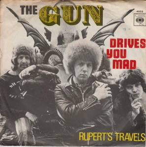 Cover - Gun, The: Drives You Mad