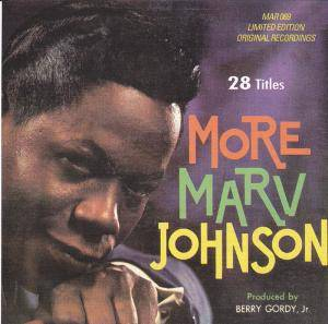 Cover - Marv Johnson: More Marv Johnson