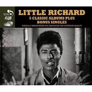 Cover - Little Richard: 5 Classic Albums Plus Bonus Singles