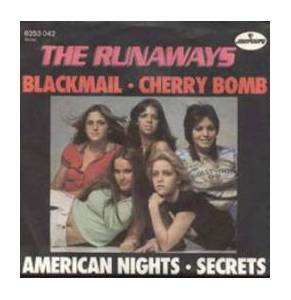 The Runaways: Blackmail EP - Cover