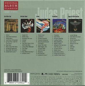 Judas Priest: Original Album Classics (5-CD) - Bild 2