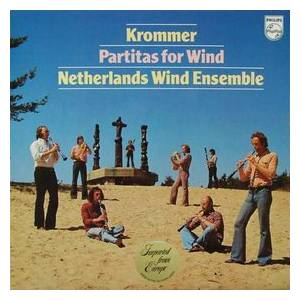 Cover - Franz Krommer: Partitas For Wind