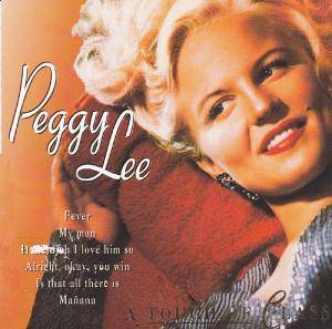 Peggy Lee: Touch Of Class, A - Cover