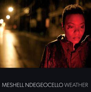 Cover - Me'Shell Ndegéocello: Weather