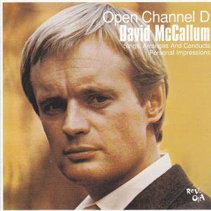 Cover - David McCallum: Open Channel D