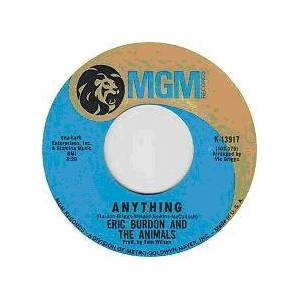 Cover - Eric Burdon & The Animals: Anything