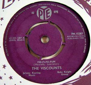 Cover - Viscounts, The: Fee-Fi-Fo-Fum