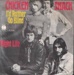 Cover - Chicken Shack: I'd Rather Go Blind