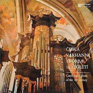 Cover - Josef Seger: Czech Organ Music of the 18th Century
