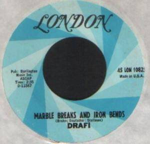 Cover - Drafi: Marble Breaks And Iron Bends