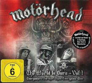 Motörhead: The Wörld Is Ours - Vol. 1 - Everywhere Further Than Everyplace Else (DVD + 2-CD) - Bild 1