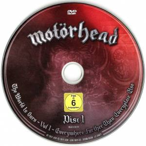 Motörhead: The Wörld Is Ours - Vol. 1 - Everywhere Further Than Everyplace Else (DVD + 2-CD) - Bild 3