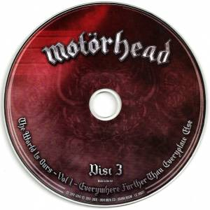 Motörhead: The Wörld Is Ours - Vol. 1 - Everywhere Further Than Everyplace Else (DVD + 2-CD) - Bild 5