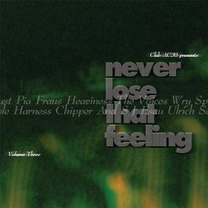 Cover - Spotlight Kid: Never Lose That Feeling - Volume Three