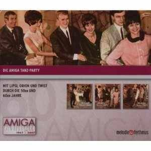 Cover - Manfred Krug: 60 Jahre Amiga - Die Amiga Tanz-Party