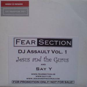 Cover - Jesus And The Gurus: Fear Section DJ Assault Vol. 1