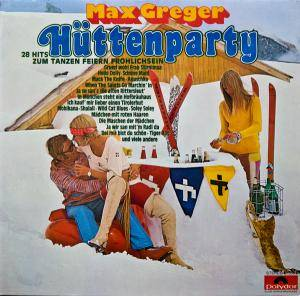 Cover - Max Greger: Hüttenparty