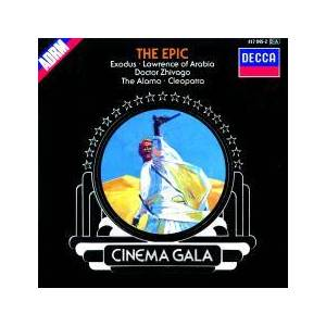 London Festival Orchestra: Cinema Gala - The Epic - Cover