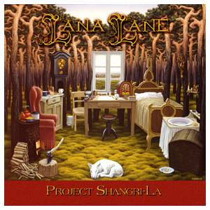 Cover - Lana Lane: Project Shangri-La