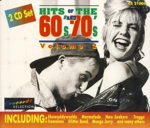 Hits Of The 60's And 70's - Volume 2 - Cover
