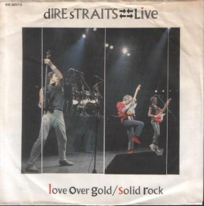 Cover - Dire Straits: Love Over Gold
