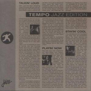Cover - Hank Roberts: Talkin Loud - Tempo Jazz Edition